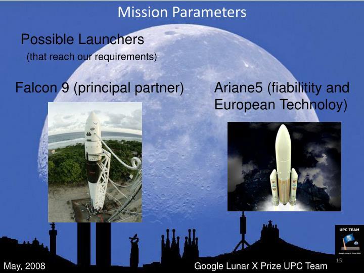 Mission Parameters