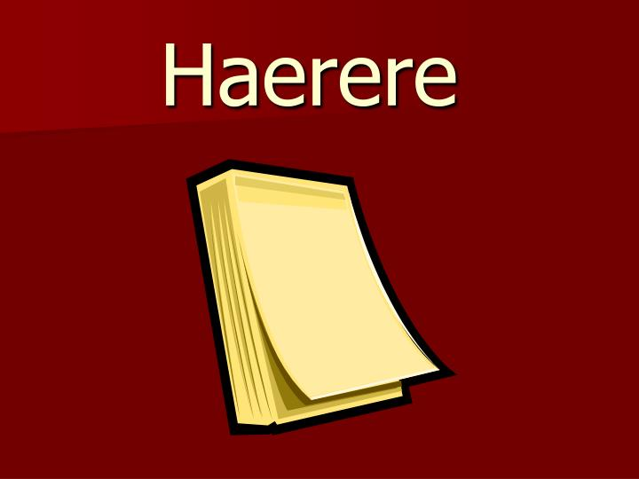 Haerere