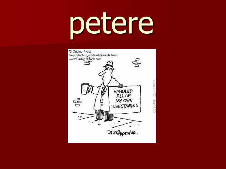 petere