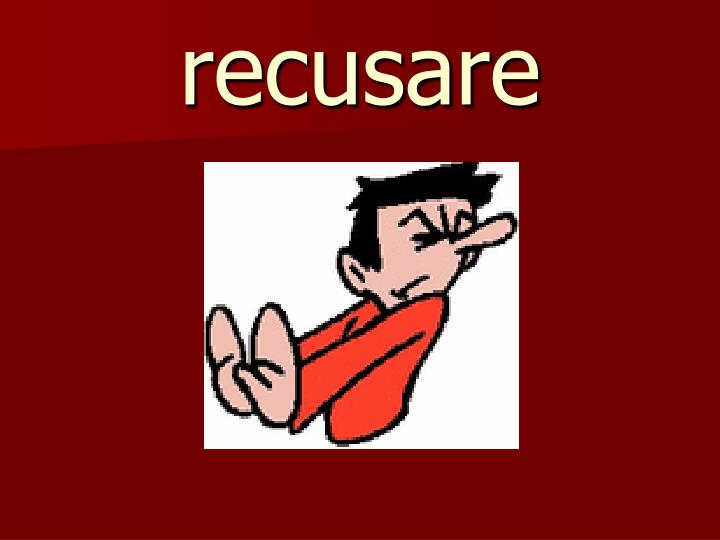 recusare