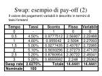 swap esempio di pay off 2
