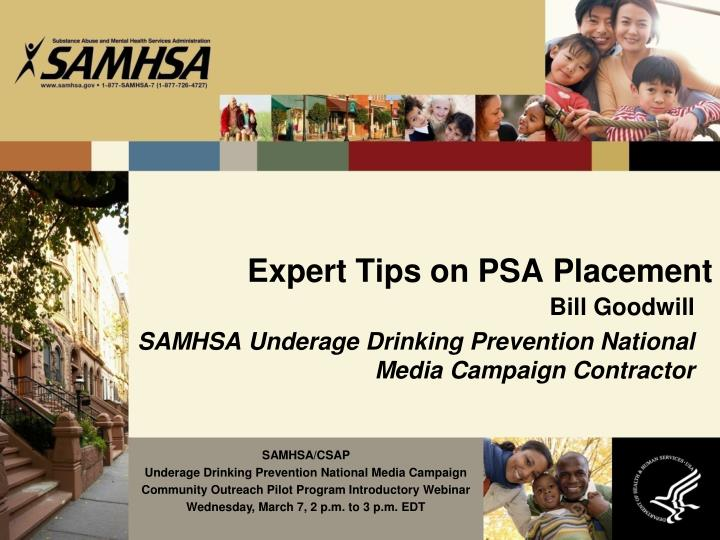 Expert Tips on PSA Placement