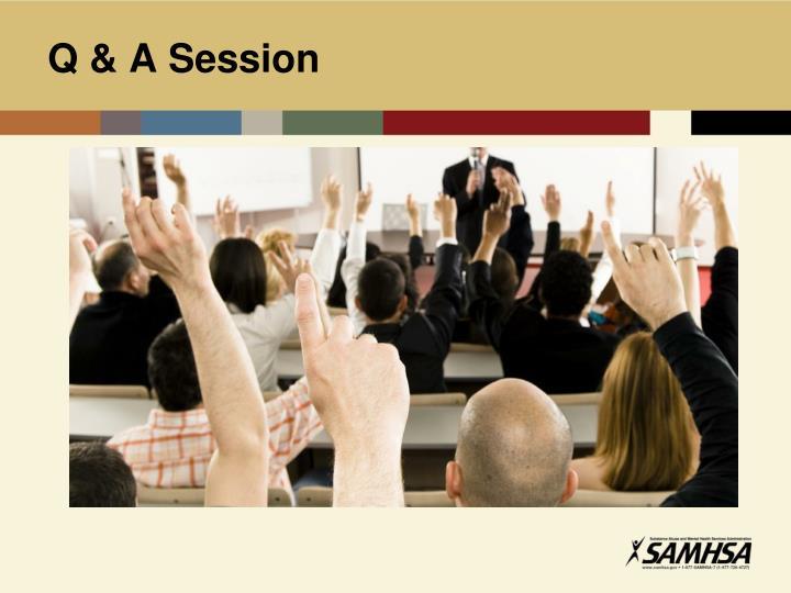 Q & A Session