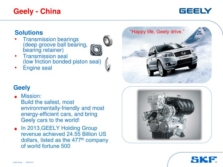 Geely - China