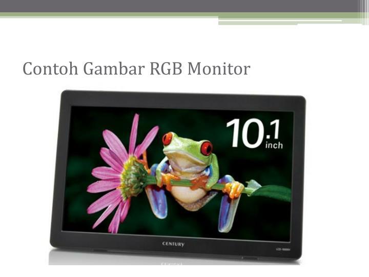 Contoh Gambar RGB Monitor