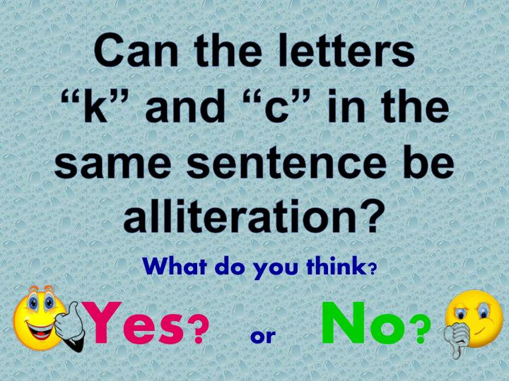 Can the letters