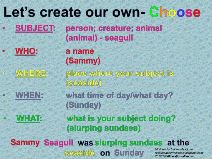 Let's create our own