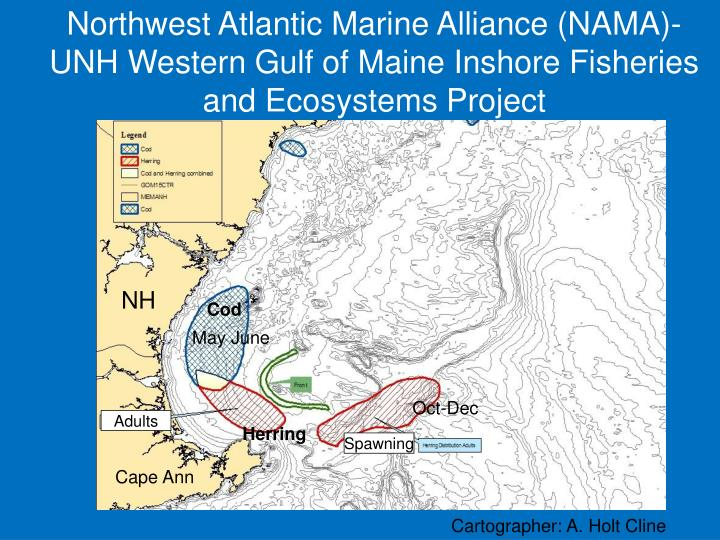 Northwest Atlantic Marine Alliance (NAMA)-UNH Western Gulf of Maine Inshore Fisheries and Ecosystems Project