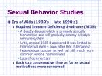 sexual behavior studies2
