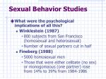 sexual behavior studies5