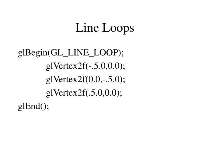 Line Loops