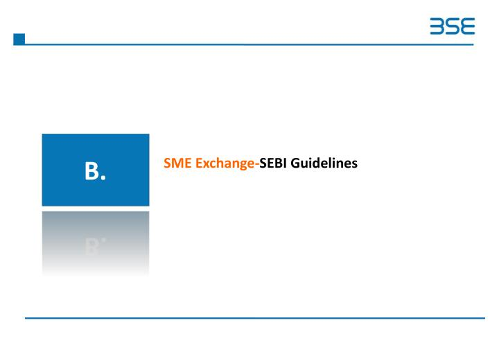 SME Exchange-