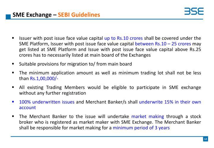 SME Exchange –