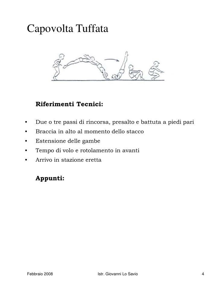 Capovolta Tuffata