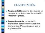 clasificaci n