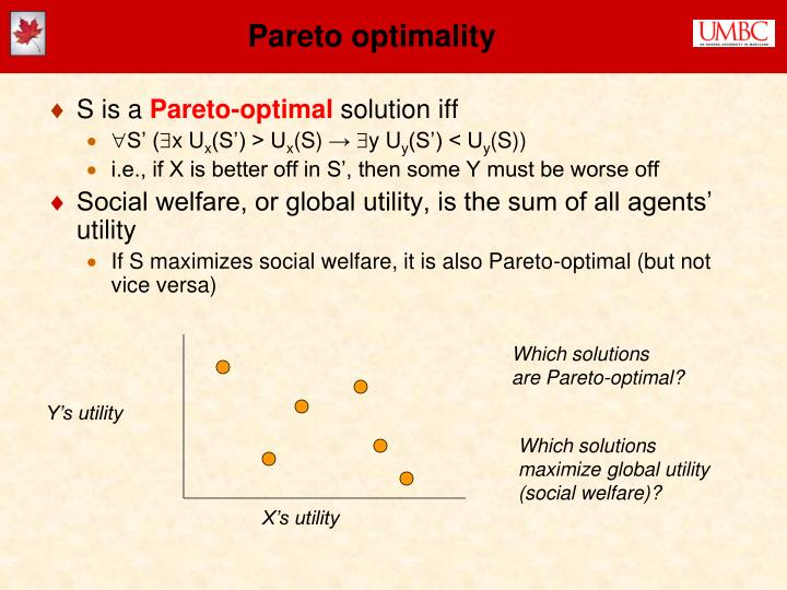 Pareto optimality