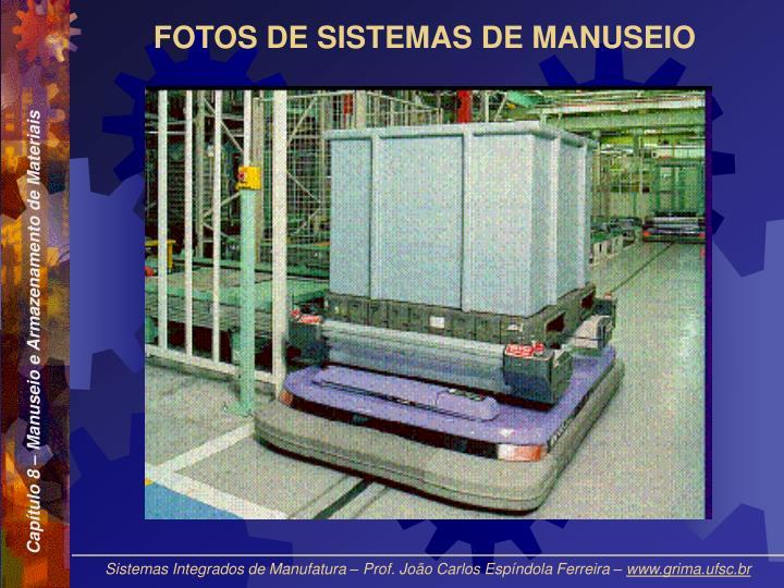 FOTOS DE SISTEMAS DE MANUSEIO