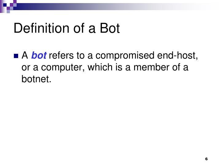 bot computer definition