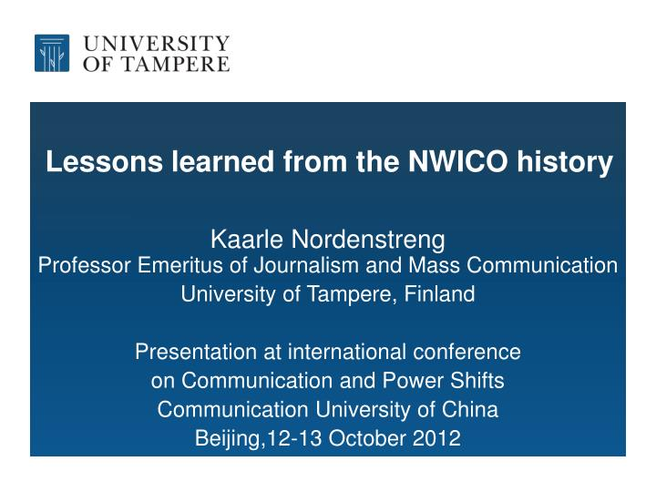 communication and command lessons learned from 15 years after 9/11: what have we learned incidents — entirely separate command structures where little this lesson learned and begin to foster an.