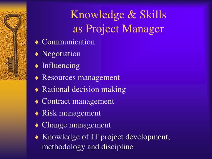 Knowledge & Skills