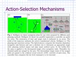 action selection mechanisms4