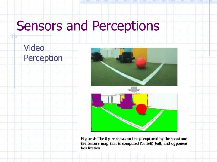 Sensors and Perceptions