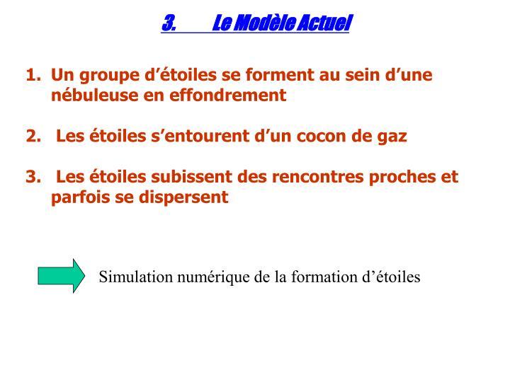 3.Le Modèle Actuel