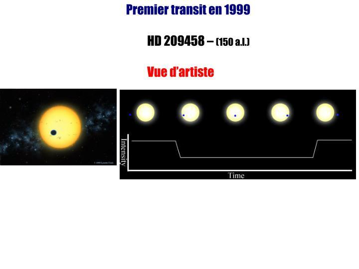 Premier transit en 1999