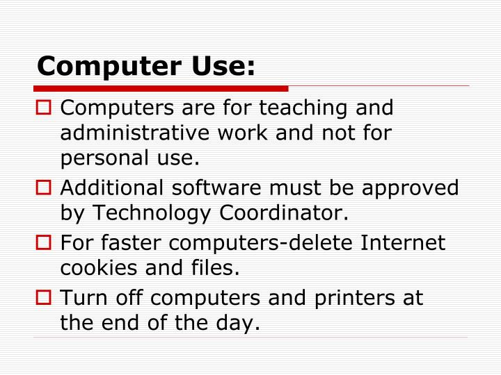 Computer Use: