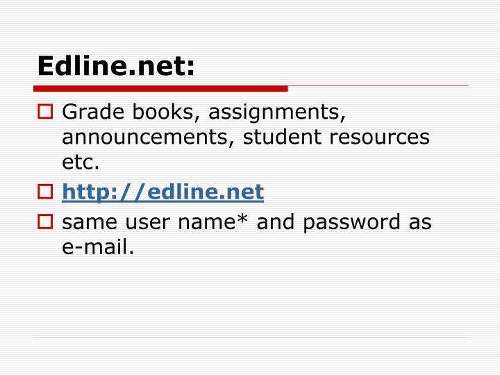 Edline.net: