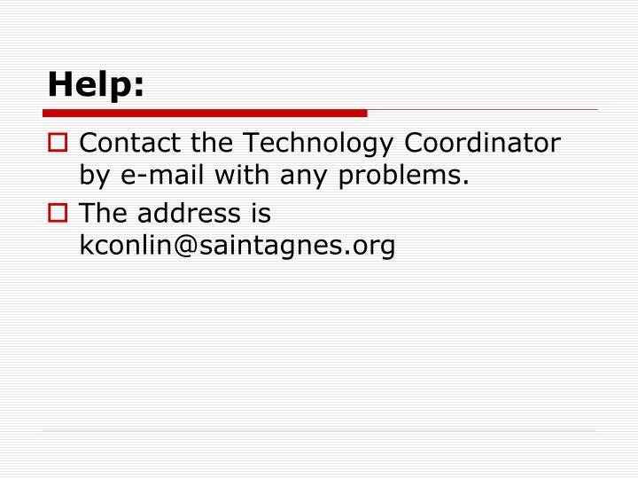 Help: