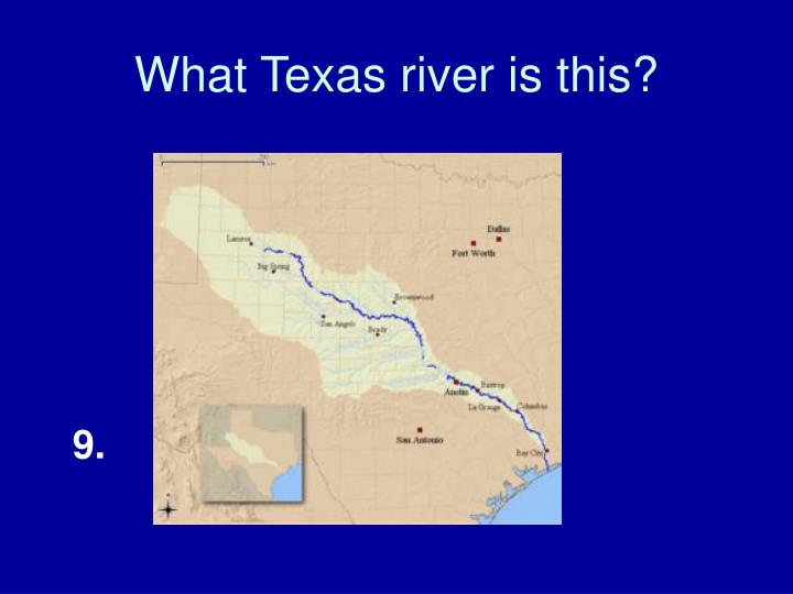 What Texas river is this?