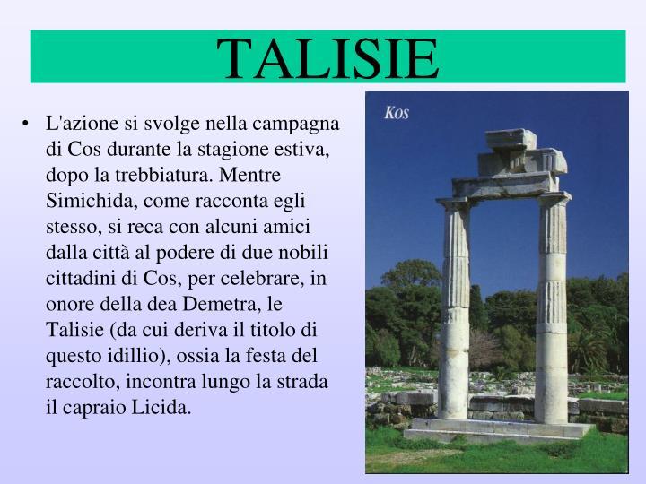 TALISIE