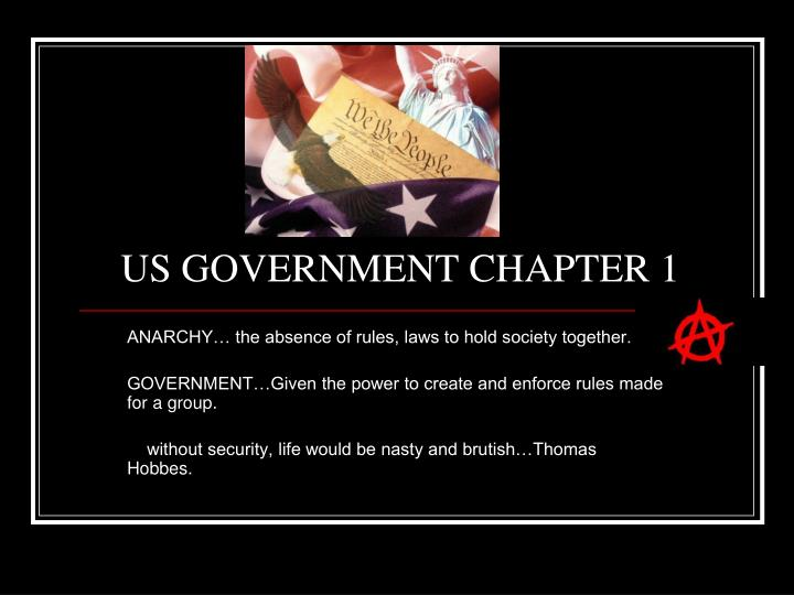Us government chapter 1