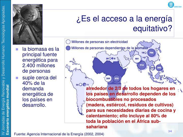 ¿Es el acceso a la energía
