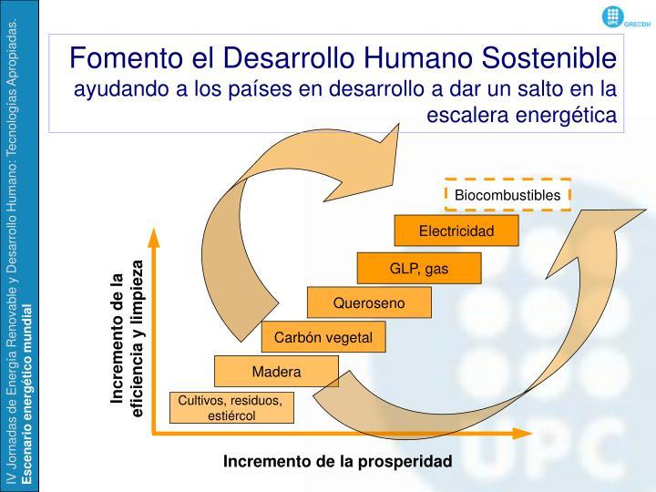 Fomento el Desarrollo Humano Sostenible