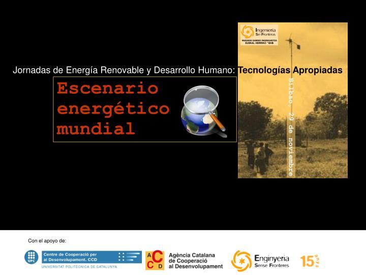 Jornadas de Energía Renovable y Desarrollo Humano: