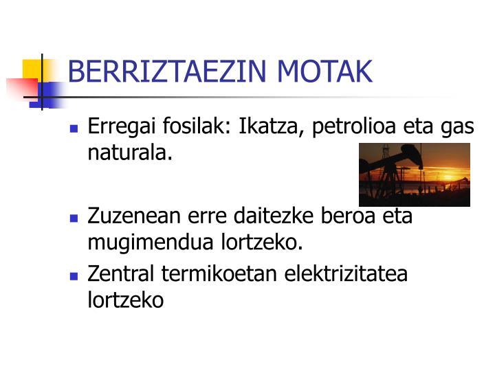 BERRIZTAEZIN MOTAK