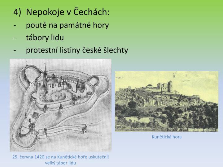 Nepokoje v Čechách:
