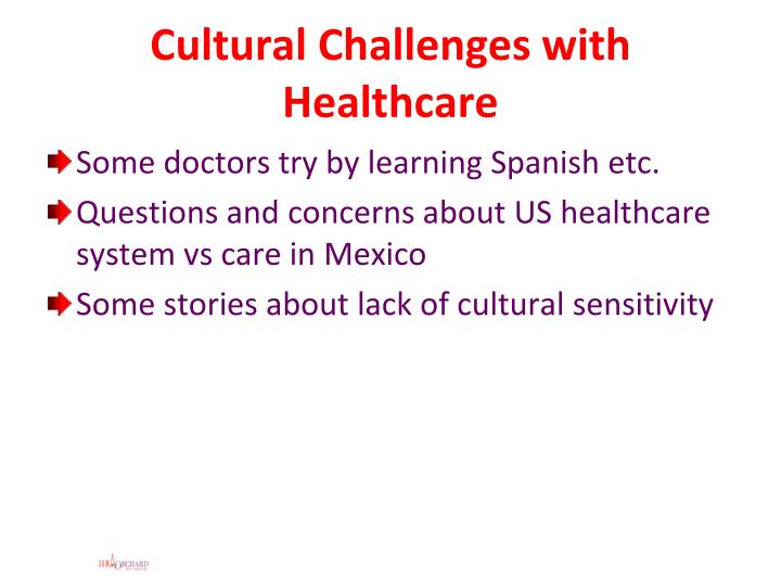 Cultural Challenges with Healthcare