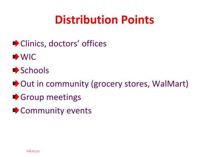 Distribution Points