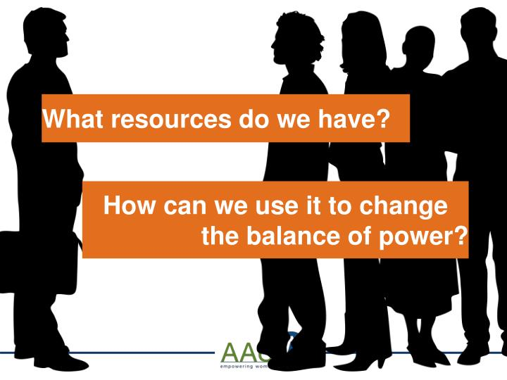 What resources do we have?