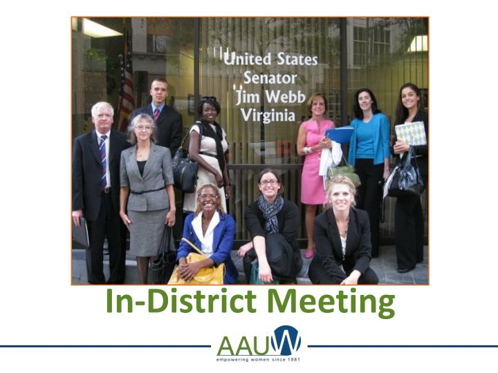 In-District Meeting