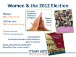 women the 2012 election