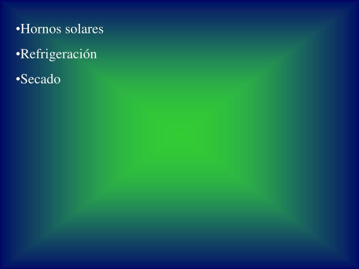 Hornos solares