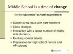 middle school is a time of change3