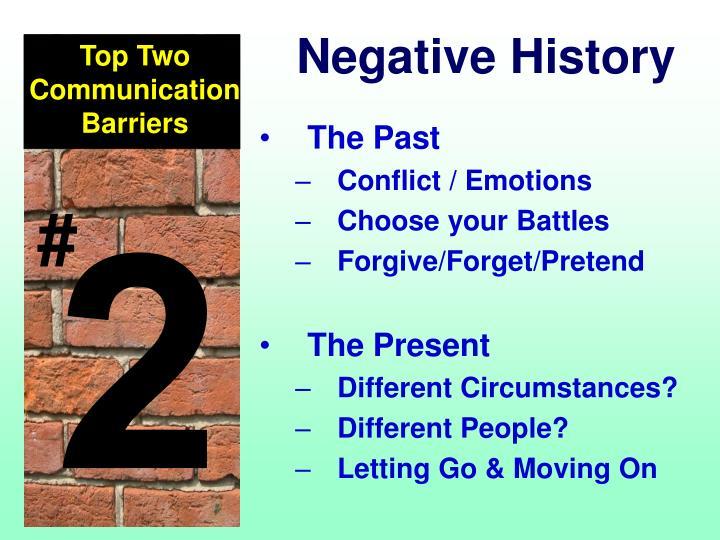 Negative History