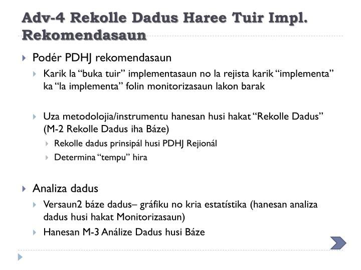 Adv-4 Rekolle