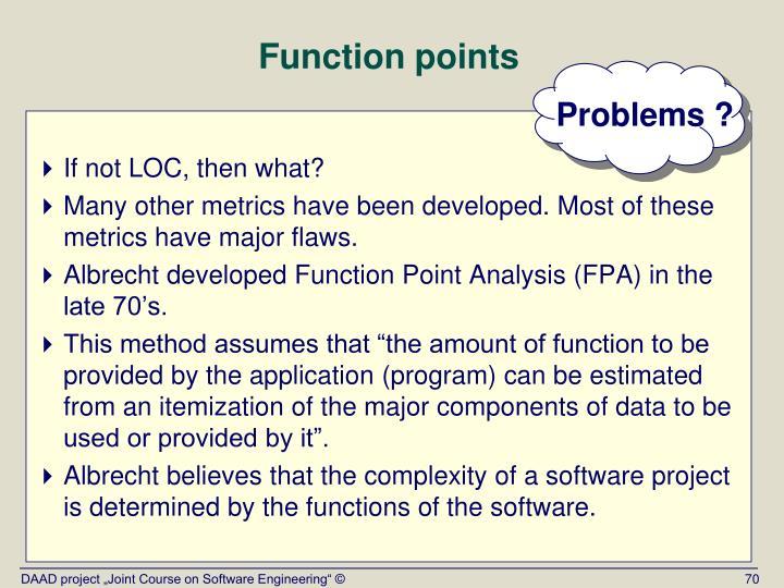 Problems ?