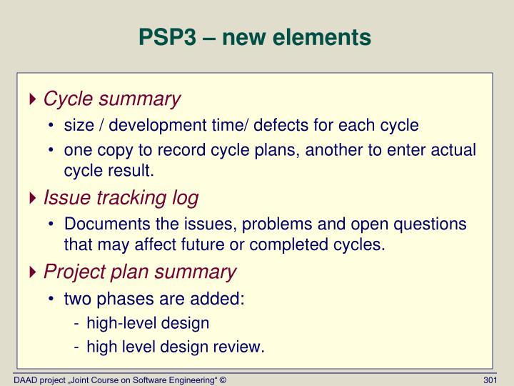 PSP3 –